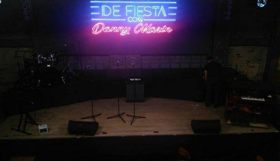 Canal 1 prepara el estreno del programa 'De fiesta con Danny Marín'
