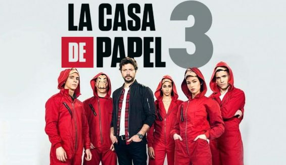 Netflix inicia rodaje de la tercera temporada de 'La Casa de Papel'