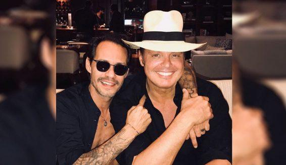 Marc Anthony y Luis Miguel trabajan en una canción juntos