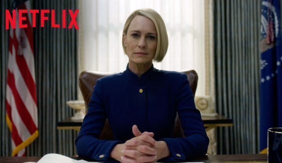 Netflix presenta el trailer de la última temporada de 'House of cards'