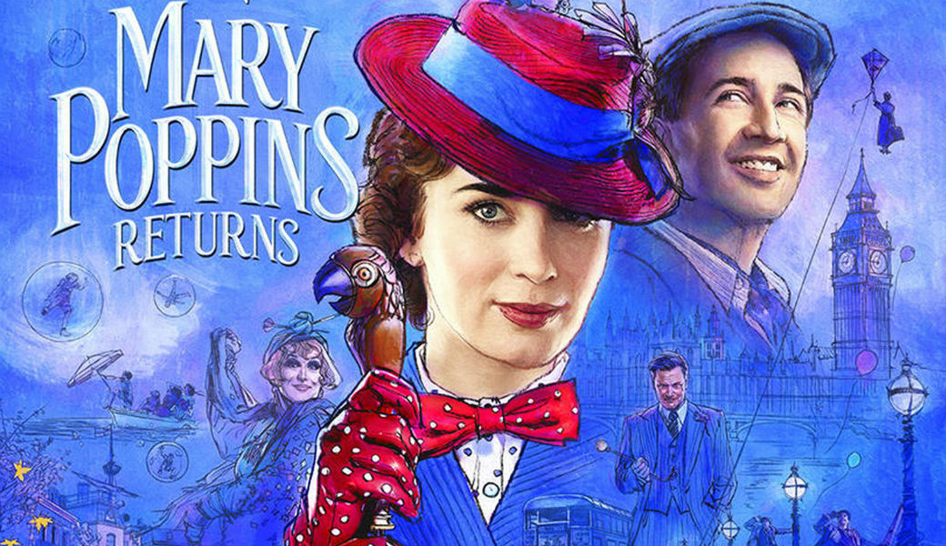 Primeras críticas alaban a 'El regreso de Mary Poppins'