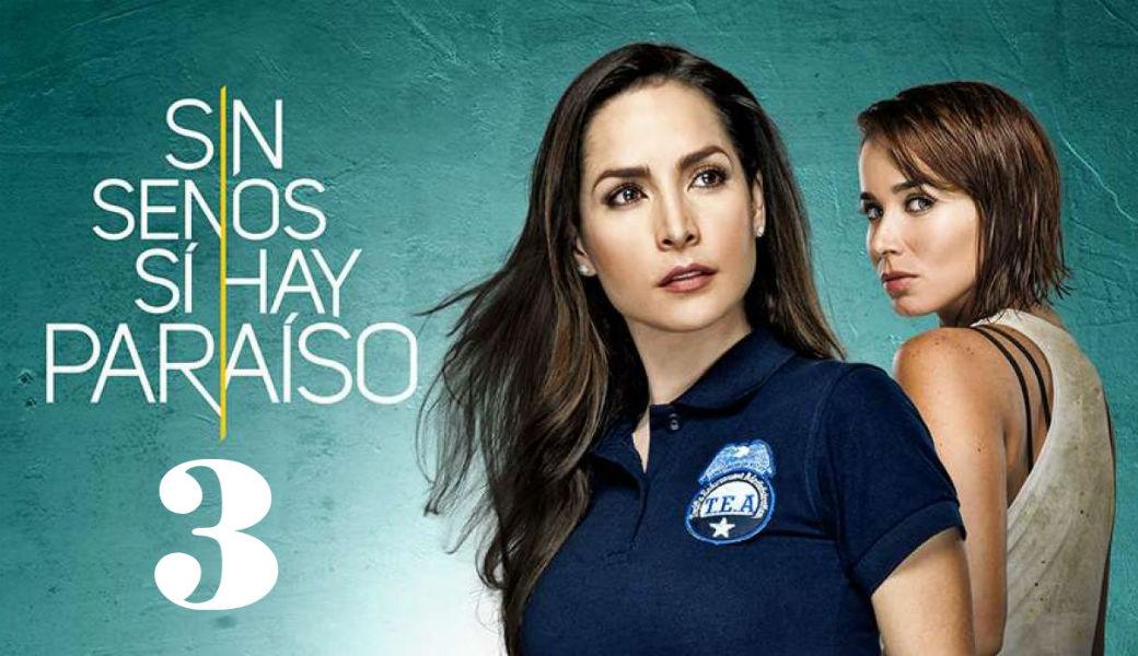 Canal 1 transmitirá 'Sin tetas sí hay paraíso 3' en Colombia
