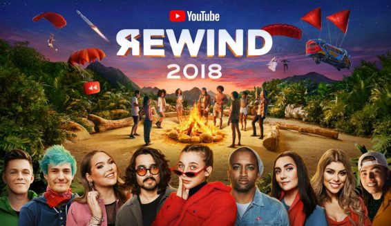 Youtube lanza el video oficial de Rewind 2018: Everyone Controls Rewind