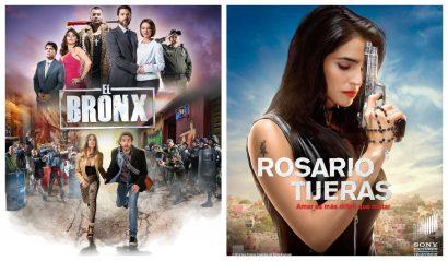 Estrenos de 'El Bronx' y 'Rosario Tijeras' arrasan en redes sociales